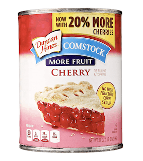 Comstock More Fruit Pie Filling & Topping, Cherry