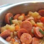 chicken cajun smoked sausage stew