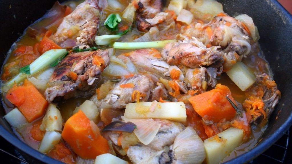 Chicken in a Crock-Pot Recipe