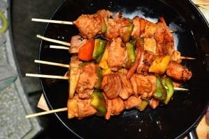 Chicken Kabobs with Lemon Marinade Recipe