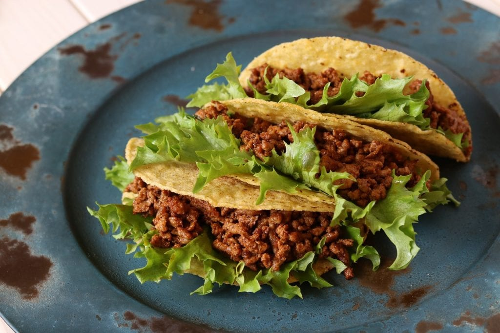 Chipotle Inspired Ground Beef Soft Tacos Recipe