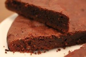 Chocolate Applesauce Cake Recipe