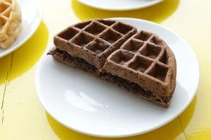 Chocolate Brunch Waffles Recipe