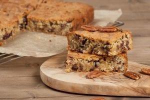 Chocolate Chip Pecan Bars Recipe