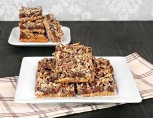 Chocolate Nut Squares Recipe