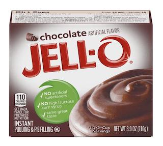 Jello Instant Chocolate Pudding Mix
