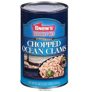 BUMBLE BEE SNOW'S Ocean Chopped Clams, Gluten Free Food
