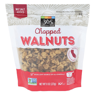 365 Everyday Value, Walnuts, Chopped