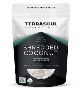 Terrasoul Superfoods Organic Coconut Flakes