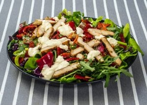 Copycat Applebee's Fiesta Chicken Salad Recipe