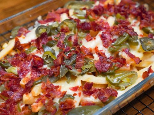 Copycat Chili's Texas Cheese Fries Recipe