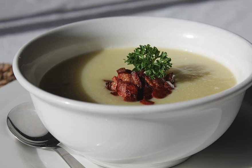 Copycat CPK Baked Potato Soup Recipe