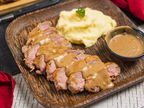 Copycat Cracker Barrel Steak And Eggs Recipe