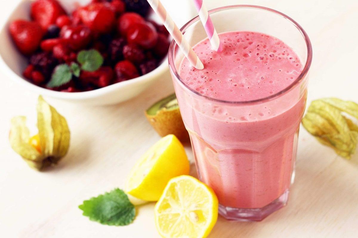 Copycat Culver's Refreshing Lemon Ice Smoothie Recipe
