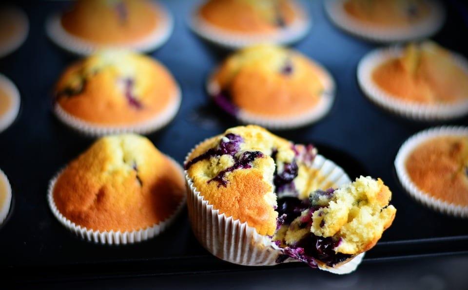 Copycat Panera Blueberry Muffins Recipe