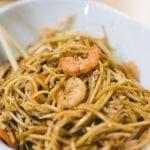 Copycat P.F. Chang's Garlic Noodles With Shrimp Recipe