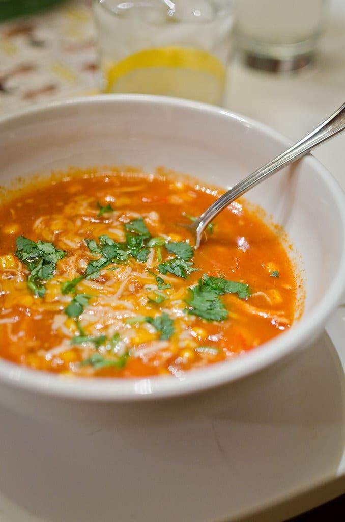 Copycat Pollo Loco Chicken Tortilla Soup Recipe