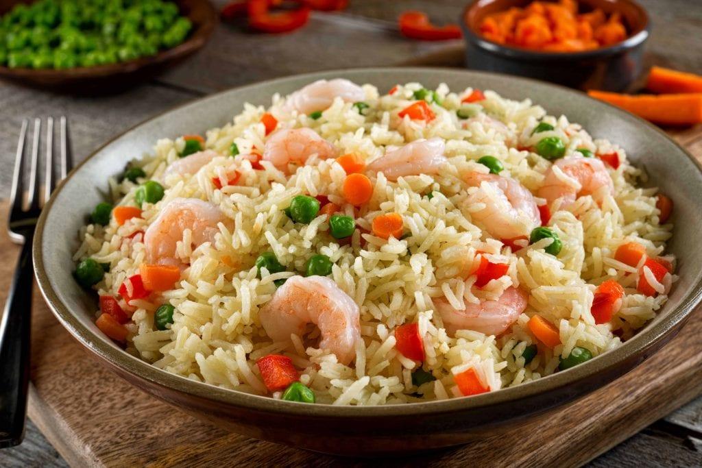 Copycat Red Lobster Scampi Shrimp and Rice Pilaf Recipe