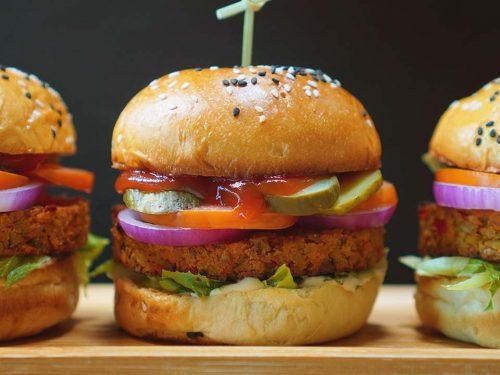 Copycat Red Robin Veggie Burger Recipe
