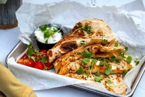 Copycat Ruby Tuesday's Chicken Quesadillas Recipe