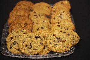 Cranberry, Chocolate Chip and Coconut Cookies Recipe