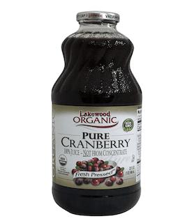 Lakewood Organic Cranberry Juice