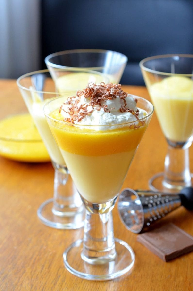 Creamy Vanilla Pudding Shots Recipe