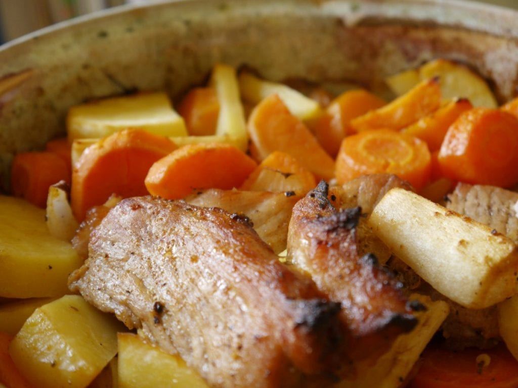 Crockpot Beef Roast with Potatoes and Carrots Recipe