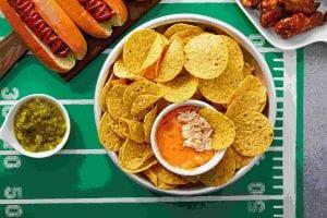 Crockpot Cheese Buffalo Chicken Dip Recipe