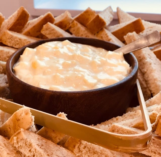 Crockpot Crispy Kielbasa and Cheese Dip Recipe