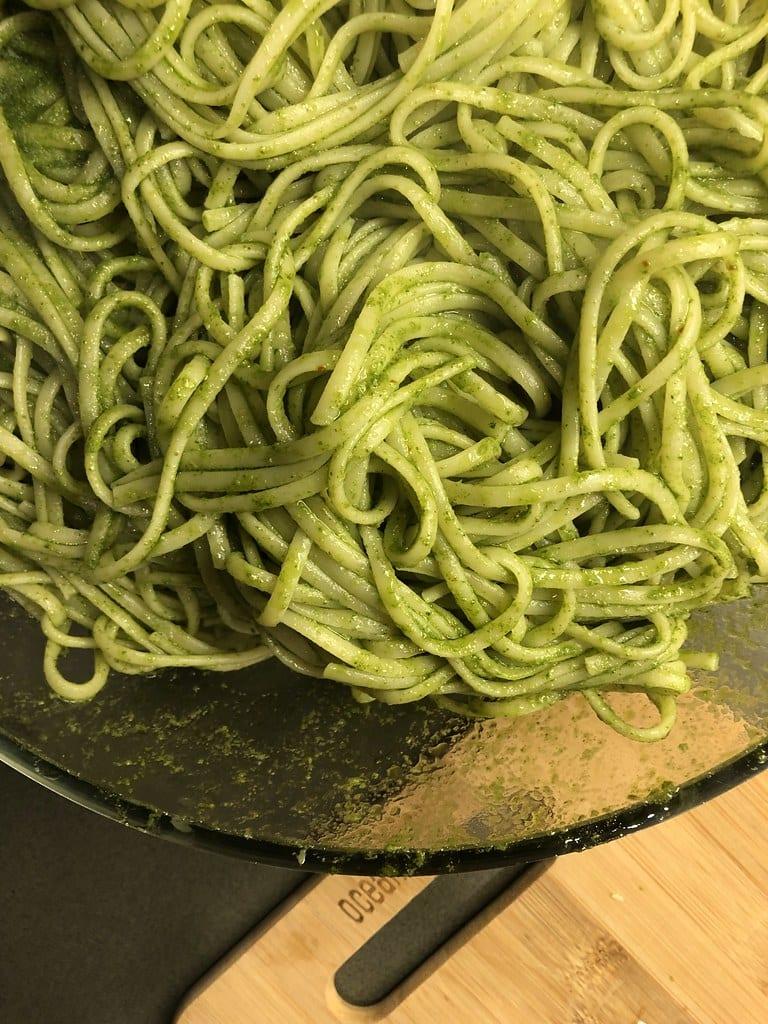 Crockpot Pesto Pasta Recipe