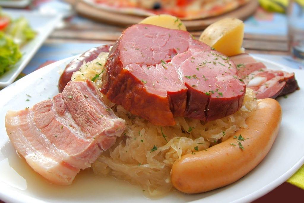 Crockpot Sauerkraut Ham Recipe