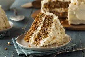 Crunchy Carrot Cake Recipe