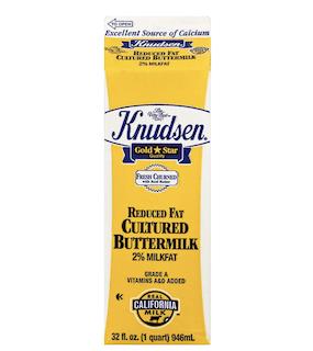 Knudsen Cultured 2% Reduced Fat Buttermilk