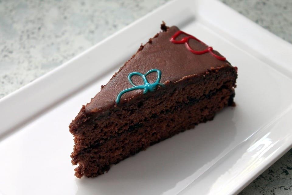 Deep, Dark Chocolate Cake Recipe