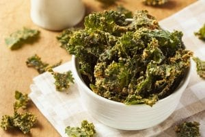 "Deep-Fried Spinach ""Chips"" Recipe"