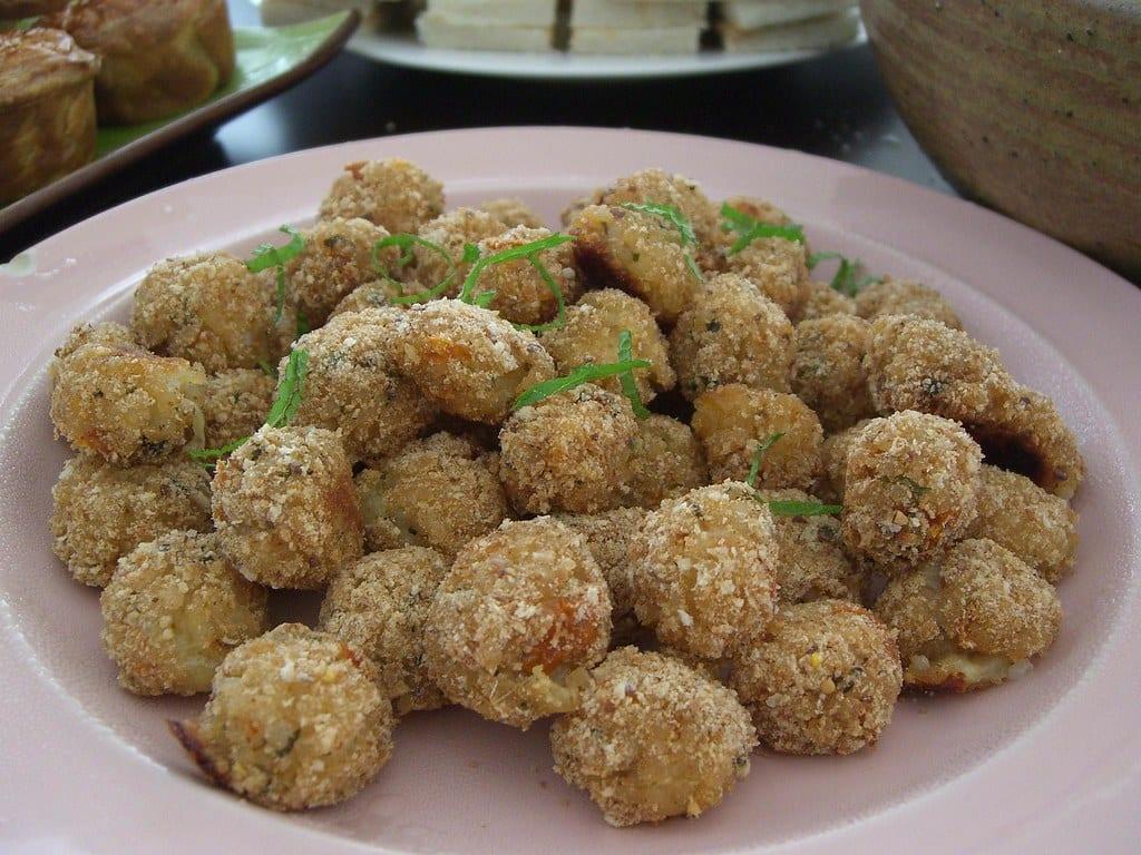 Divine Baked Mozzarella Balls Recipe