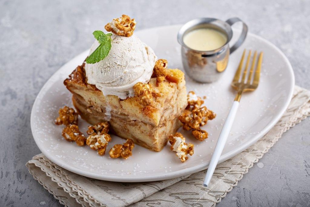 Easy Caramel Apple Bread Pudding Recipe
