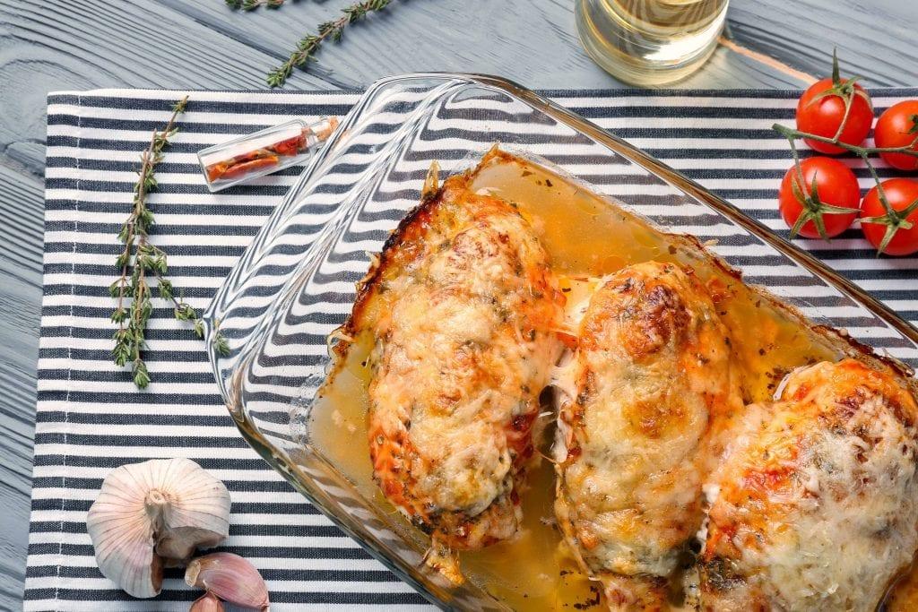 Easy Garlic Parmesan Chicken Recipe