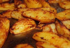 Easy Spicy Roasted Potatoes Recipe