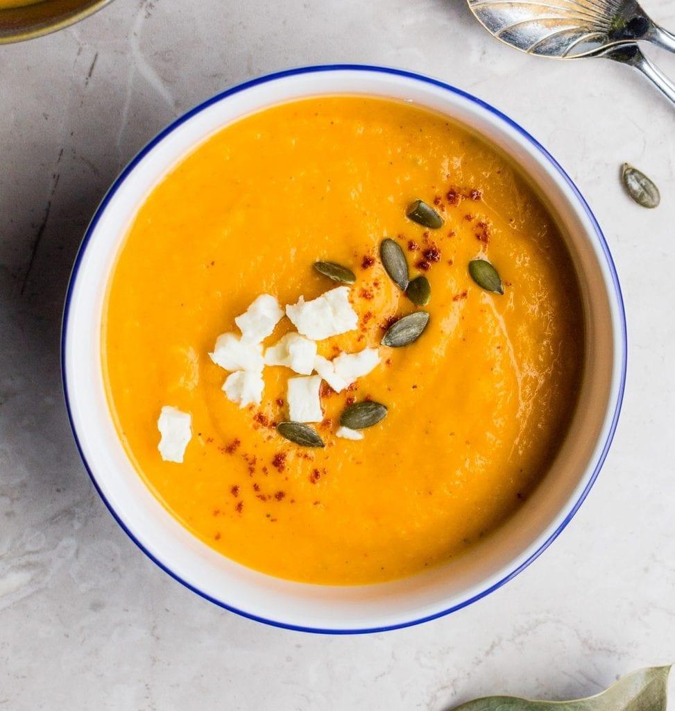 Easy Sweet Potato Soup Recipe
