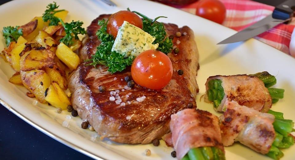 Easy Tender Rosemary Ribeye And Fresh Veggies Recipe