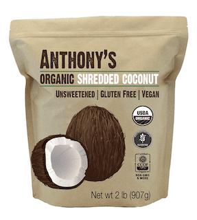 Anthony's Organic Shredded Coconut