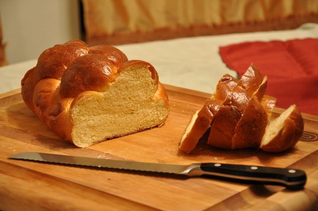 delicious challah bread