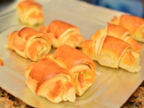 baked crescent rolls
