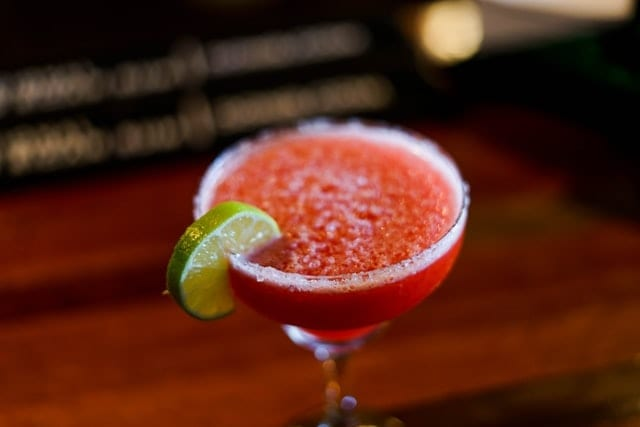 Frozen Watermelon Virgin Margaritas Recipe
