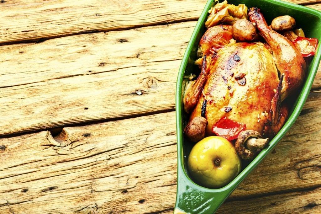 Fruit Stuffed Chicken Recipe