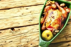 Fruit Stuffed Chicken Recipe