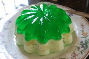 Furr's Light Green Jello Salad Recipe