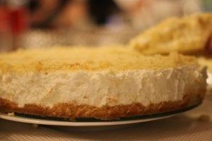 Garlic Blue Cheese Cheesecake Recipe